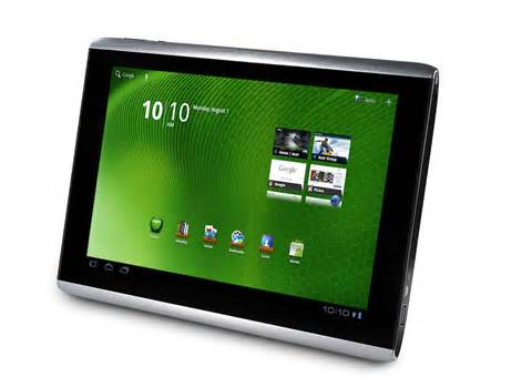 Фото acer iconia tab a500